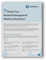 7 Things Your Resident Management Platform Must Have